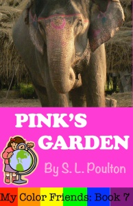 The Color Pink in a fun ebook for Early Learners, Pre-K