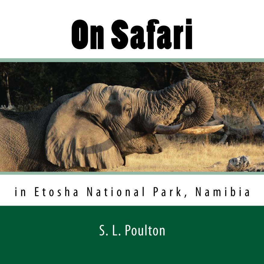 On Safari in Etosha National Park Namibia, Children's book